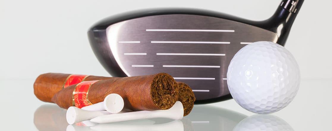Golf y tabaco